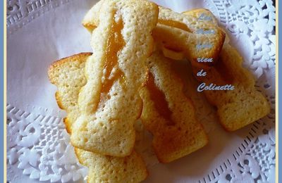 Financiers au citron confit