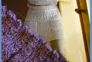 Long pull en laine gédifra