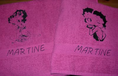 serviettes bettyboop