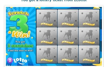 Ticket de lotto Yoville