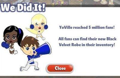 5 millions de Fans....