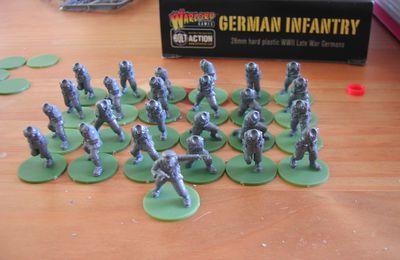 BOLT ACTION : infanterie allemande