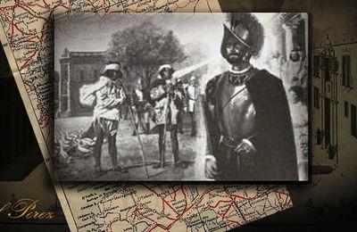 El soldado español que apareció en México