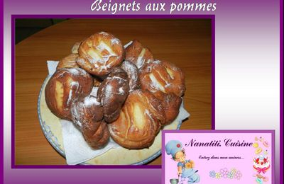 "Beignets aux pommes au ""myCook"", ""Cook'in"", ""Thermomix"".."