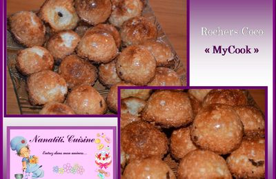 Rocher Coco au Cook'in, My Cook, Thermomix...