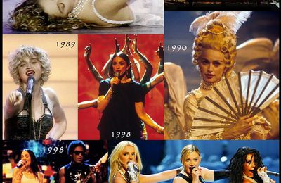 "Madonna's perfomance at ""Mtv video Music Awards"""