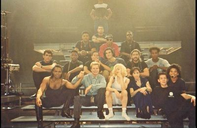 "Madonna And The ""BLOND AMBITION"" Full Cast"