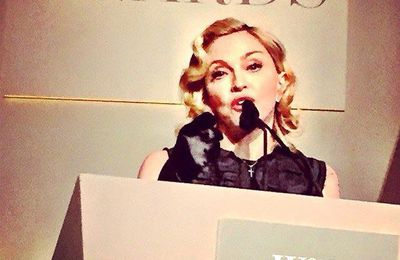 Madonna - « Innovator of the Year » Awards (05/11/2014)
