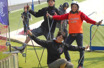 Les nouveaux moniteurs de rollerski en 2010