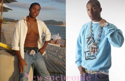 Geffroy, sosie de Pharrell Williams et Chris Brown, fait la Une de Newsnpeople! | Pharrell Williams and Chris Brown's lookalike!