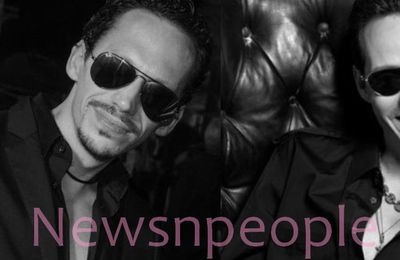 Le sosie de Marc Anthony, fait la Une de Newsnpeople! | Marc Anthony's look alike