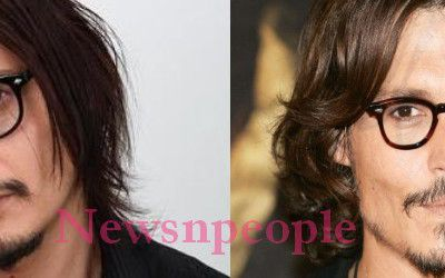 Le sosie de Johnny Depp, fait la Une de Newsnpeople! | Johnny Depp's look alike