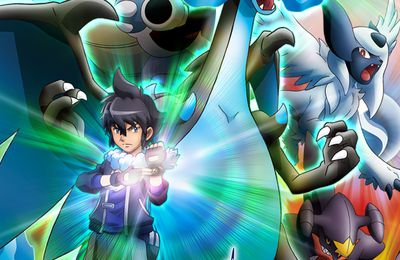 Anime Pokemon spécial XY: Mega-Evolution