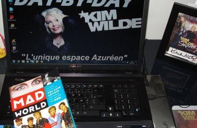 """Mad World Book"" 80's et New Wave avec Kim Wilde !"