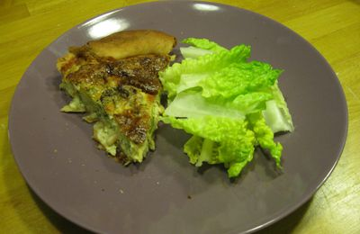 Quiche au brocoli, on s'y colle…