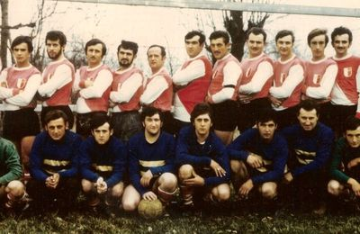 Le foot à Saint-Priest en 1967