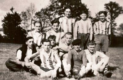 Le foot à Saint-Priest en 1950