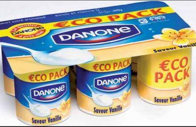 """Danone : """"le low cost m'a tuer"""""""
