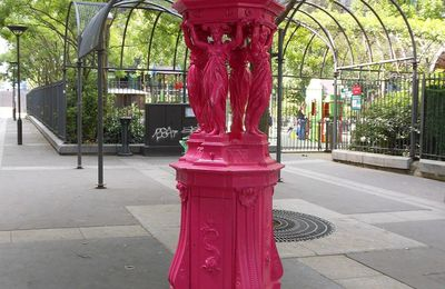 La fontaine rose