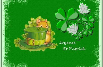 Cartes saint Patrick à télécharger