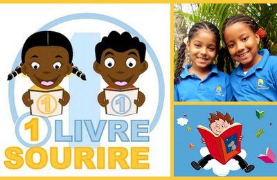 L'École Française de la Costa Verde ; Opération 1 livre 1 sourire