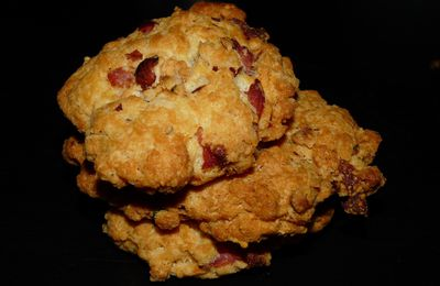 Cookies Parmesan / Noisettes / Bacon