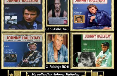 Ma collection Johnny Hallyday personnel JHroute66 n.4