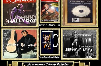 Ma collection Johnny Hallyday personnel JHroute66 n.5