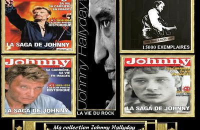 Ma collection Johnny Hallyday personnel JHroute66 n.3