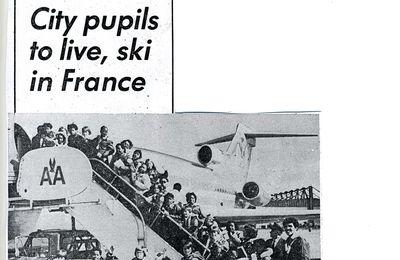 Classe de neige franco-américaine : Cleveland/Neuilly