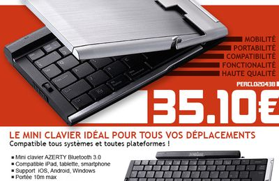 Communication clavier pliable Perixx