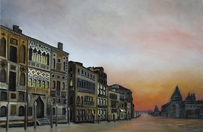 Grand Canal (huile 70 x 100 cm)