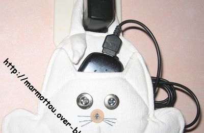 chat charge le mobil !