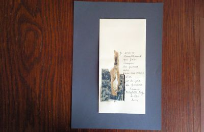 """Enveloppes riches : """" Je suis ce tremblement """" avec Ghislaine Lejard ( juillet 2014 )"""