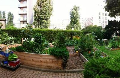 La fin des vacances pour le jardin intergénérationnel des Tourelles