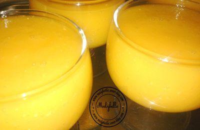 boisson mangue et gingembre