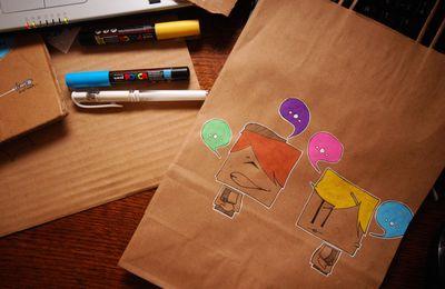 Illustrations en carton