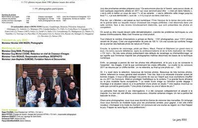 Les résultats 2011 du concours de Montier-en-Der sont tombés !