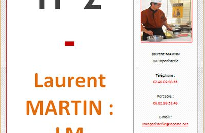 IT2 - Laurent MARTIN : LM Lapatisserie