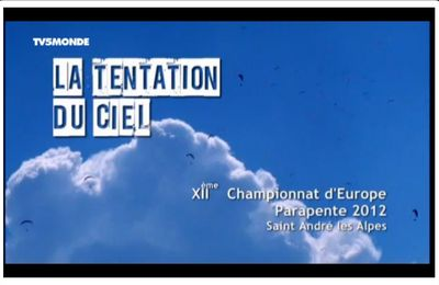 Championnat d'Europe 2012 - TV5 Monde