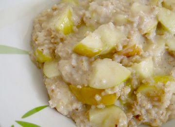 Porridge aux Pommes & Miel