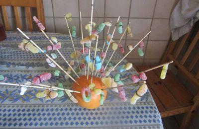 un arbre à bonbons