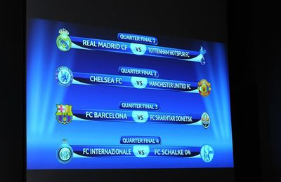 emparejamientos Champions League WEMBLEY 2011