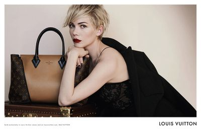Michelle Williams fait ses classes chez Louis Vuitton