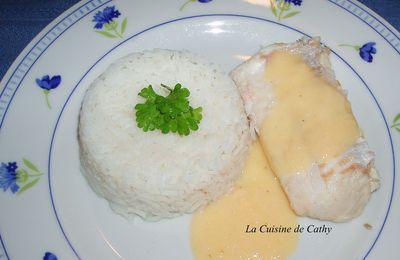 Colin ou merlu au beurre blanc