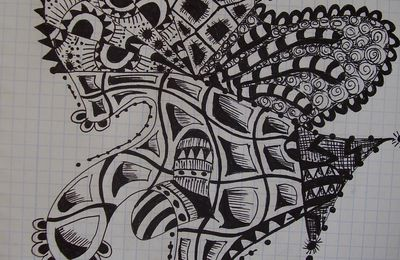 Another Zentangle...