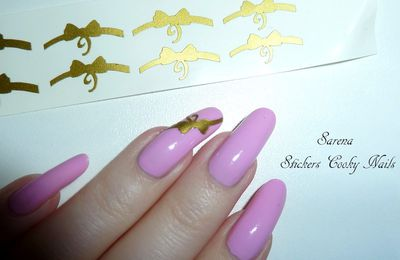 Stickers noeud Cooky Nails