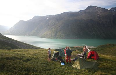 Free camping for all in Norway