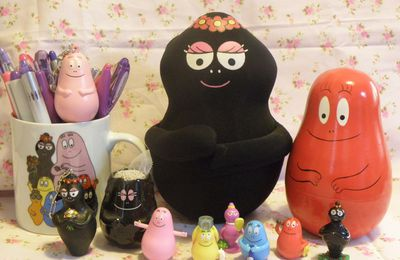 Ma collection de Barbapapa et compagnie!!!!!!