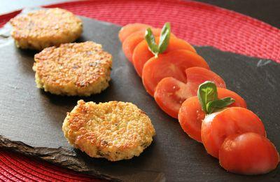 Croquettes de Quinoa au Parmesan et Basilic